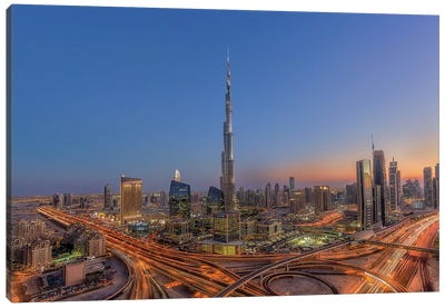 The Amazing Burj Khalifah Canvas Art Print
