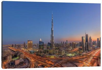 The Amazing Burj Khalifah Canvas Art Print