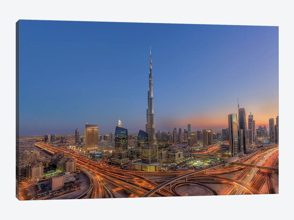 The Amazing Burj Khalifah by Mohammad Rustam 1-piece Art Print