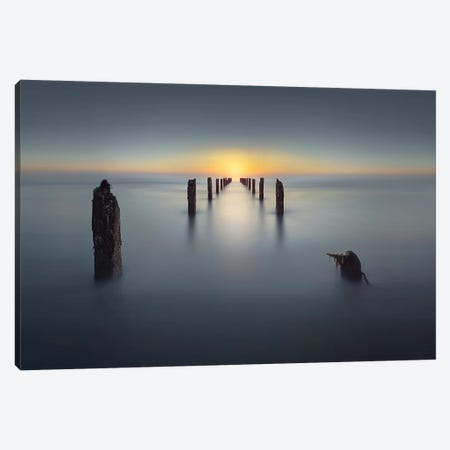 Last Light II Canvas Print #OXM4395} by Nadav Jonas Art Print