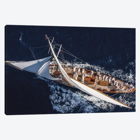 Moonbeam Race Canvas Print #OXM43} by Marc Pelissier Art Print