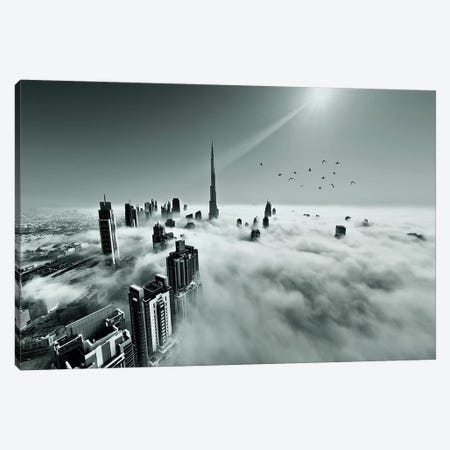 Up Up And Above 3-Piece Canvas #OXM4400} by Naufal Canvas Wall Art