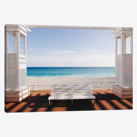 Window to the Sea Canvas Print #OXM4406} by Paco Palazon Art Print