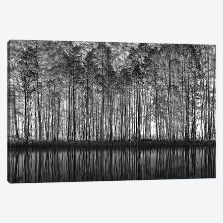 Pointillism Nature 3-Piece Canvas #OXM4418} by Roswitha Schleicher-Schwarz Canvas Art Print