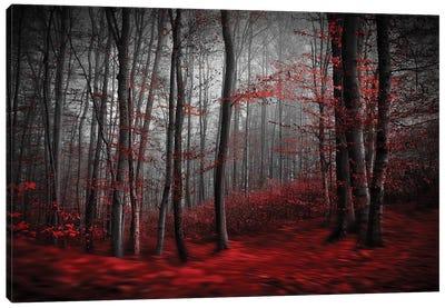 Bloody River Canvas Art Print