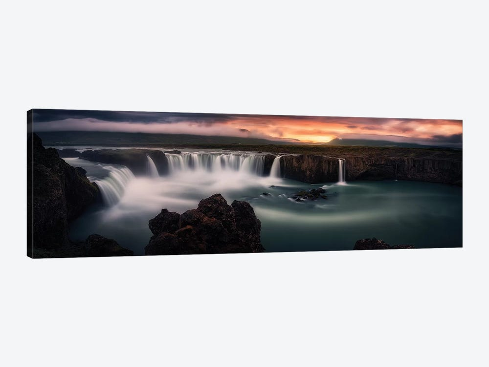 Fire And Water by Stefan Mitterwallner 1-piece Canvas Print