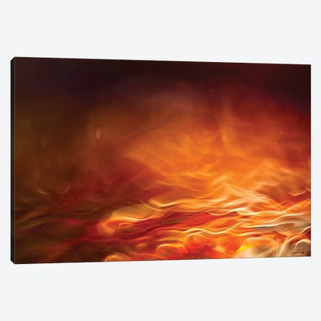 Burning Water Canvas Print #OXM4442} by Willy Marthinussen Canvas Wall Art