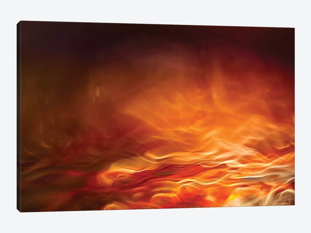 Burning Water by Willy Marthinussen 1-piece Canvas Art
