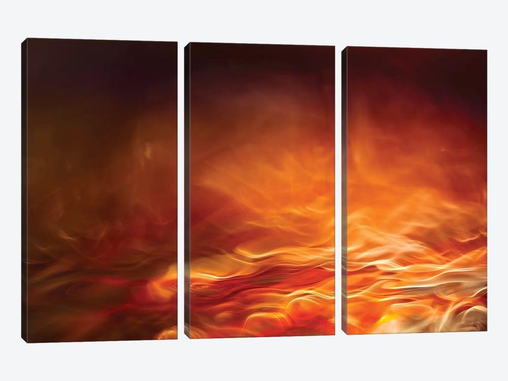 Burning Water by Willy Marthinussen 3-piece Canvas Artwork