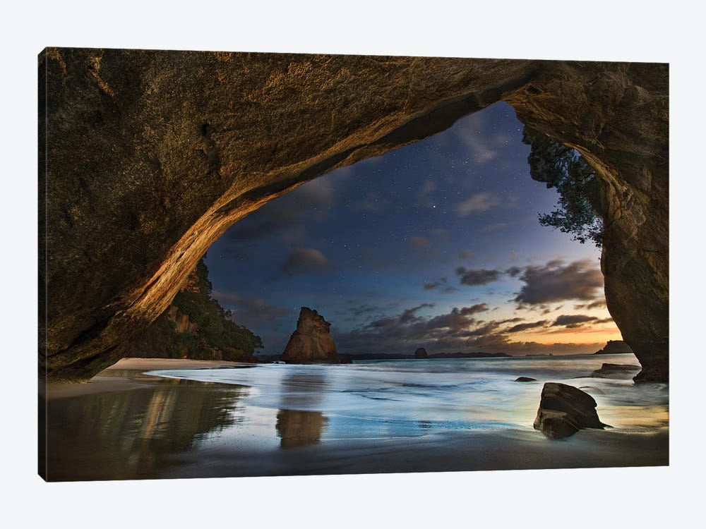 Cathedral Cove by Yan Zhang 1-piece Canvas Artwork