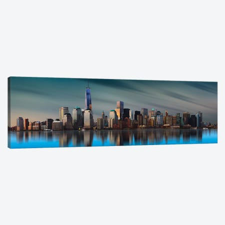 New York World Trade Center Canvas Print #OXM4447} by Yi Liang Canvas Print