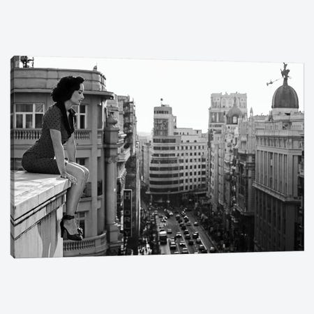 Mad Madrid Canvas Print #OXM4463} by Alejandro Marcos Canvas Artwork