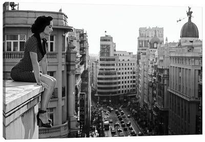Mad Madrid Canvas Art Print