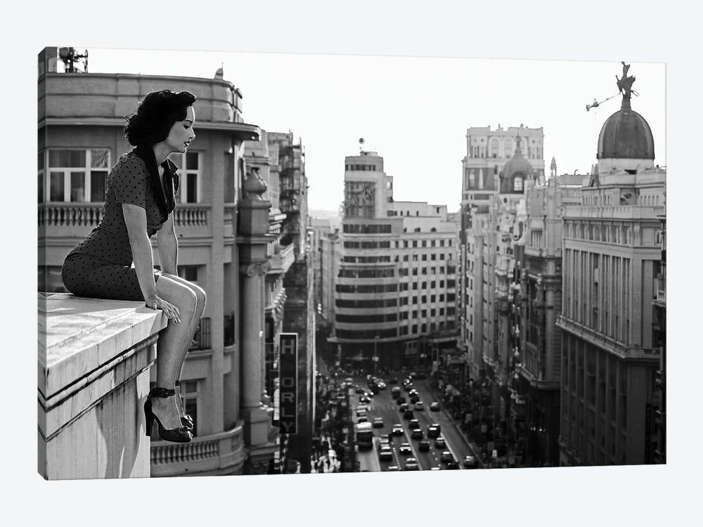 Mad Madrid by Alejandro Marcos 1-piece Canvas Art Print