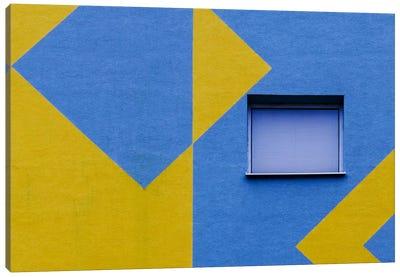Window To The World Geometry Canvas Art Print