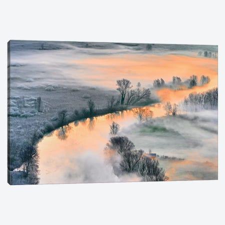 Sunrise Canvas Print #OXM4501} by Fiorenzo Rondi Art Print