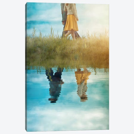 One Couple, Two Direction Canvas Print #OXM4514} by Ildiko Neer Canvas Print