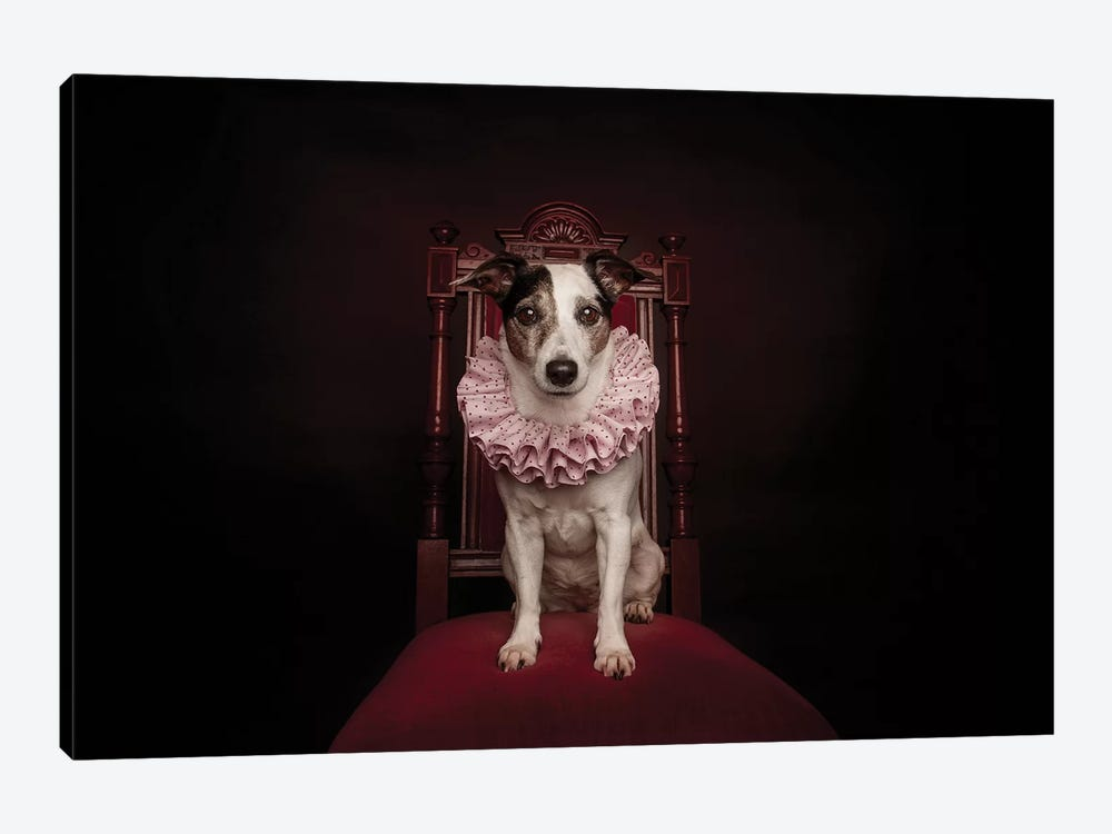 The Queen by Heike Willers 1-piece Canvas Artwork