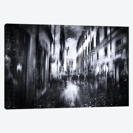 A Rainy Day Canvas Print #OXM4563} by Nicodemo Quaglia Canvas Art Print