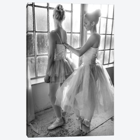 Ballet Dancers Preparation ... Canvas Print #OXM4568} by Peter Müller Photography Canvas Art Print