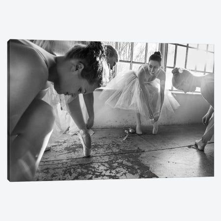 Ballet Dancers Preparation... Canvas Print #OXM4569} by Peter Müller Photography Canvas Print