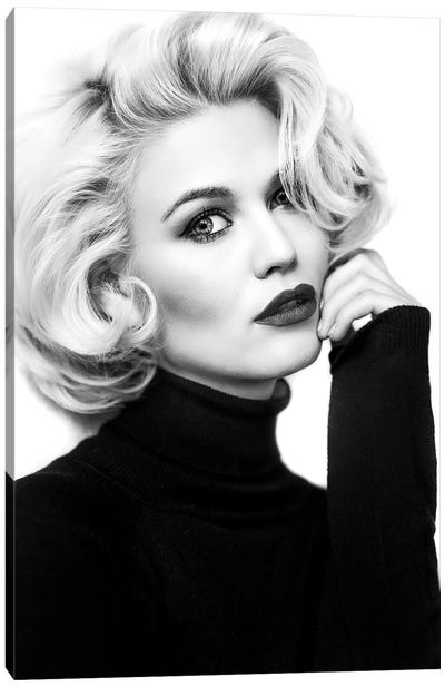 My Day With Marilyn... Canvas Art Print