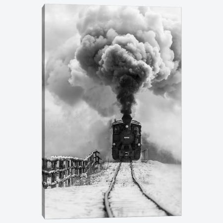 Old Train Canvas Print #OXM4593} by Sveduneac Dorin Lucian Canvas Art