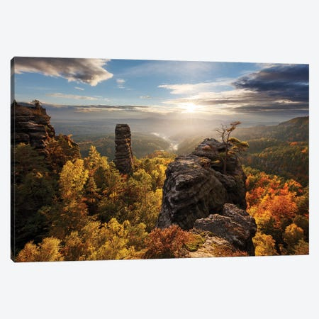 Autumn In The Rocks Canvas Print #OXM4603} by Martin Rak Canvas Wall Art