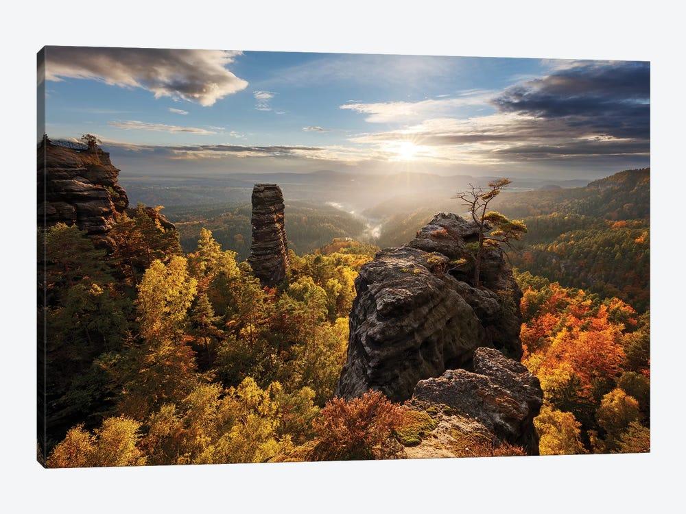 Autumn In The Rocks by Martin Rak 1-piece Canvas Artwork