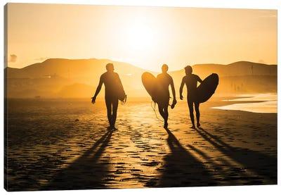 Surf Trio Canvas Art Print