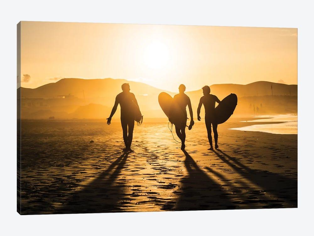 Surf Trio by Miha Pavlin 1-piece Canvas Wall Art
