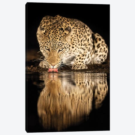 Single Mother Canvas Print #OXM4632} by Amnon Eichelberg Art Print