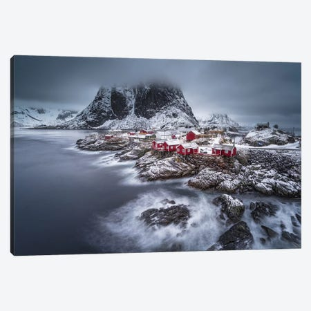 Winter Lofoten Islands Canvas Print #OXM4636} by Andy Chan Canvas Wall Art