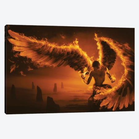 Fiery Canvas Print #OXM4645} by Christophe Kiciak Art Print