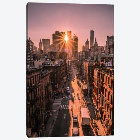 The All Seeing Sun Canvas Print #OXM4646} by Christopher R. Veizaga Art Print