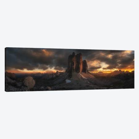 Three Peaks 3-Piece Canvas #OXM4654} by David Martin Castan Canvas Artwork