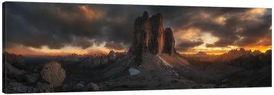 Three Peaks Canvas Art Print