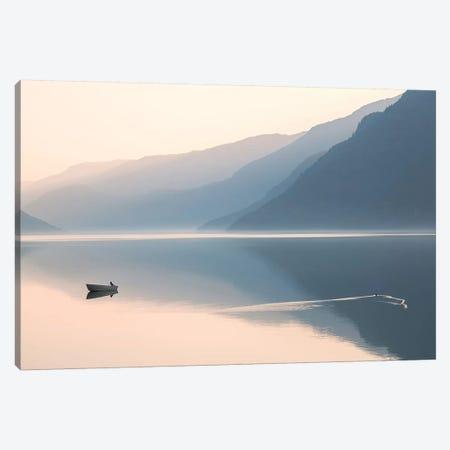 Still Evening Canvas Print #OXM4682} by Gustav Davidsson Canvas Artwork