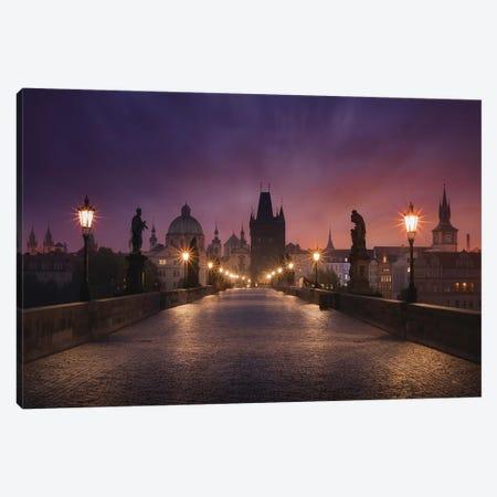 Saint Charles Bridge, Prague Canvas Print #OXM4693} by Inigo Cia Canvas Print