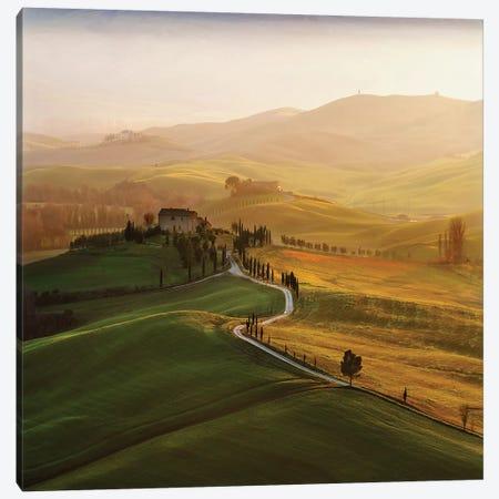 Val D'Orcia Canvas Print #OXM4699} by Jarek Pawlak Canvas Print