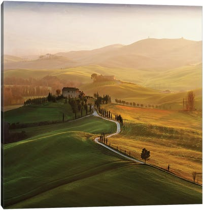 Val D'Orcia Canvas Art Print