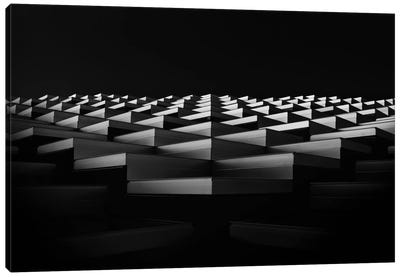 Stairs To The Light Canvas Print #OXM470
