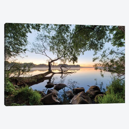 Lake View Canvas Print #OXM4711} by keller Canvas Art