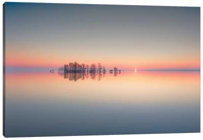 Lake Mattamuskeet Memory Canvas Art Print