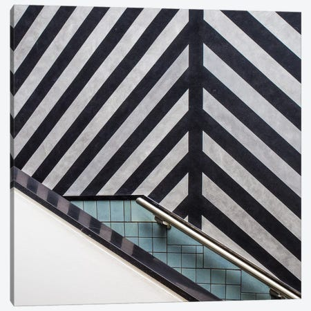 Museum Staircase Canvas Print #OXM4718} by Luc Vangindertael Canvas Art