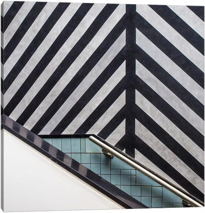Museum Staircase Canvas Art Print