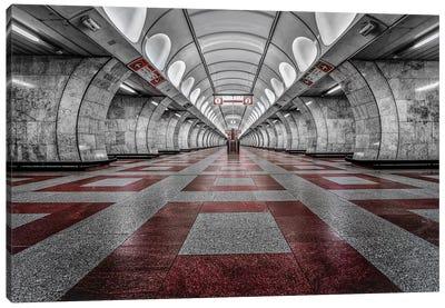 Prague Metro Canvas Art Print