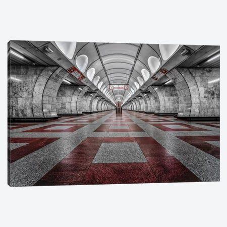 Prague Metro Canvas Print #OXM4729} by Massimo Cuomo Art Print