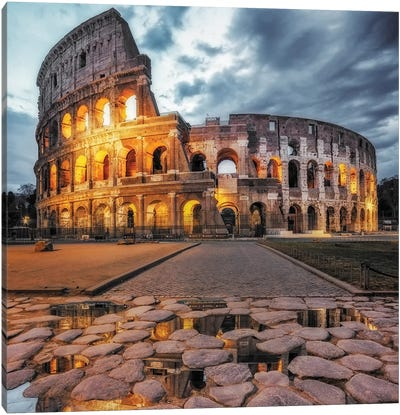 The Colosseum Canvas Art Print