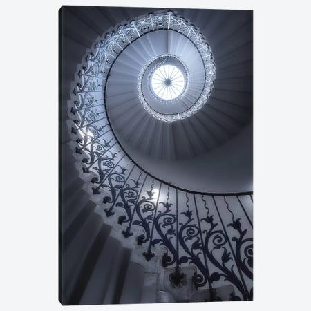 Tulip Stairs Canvas Print #OXM4731} by Massimo Cuomo Canvas Wall Art